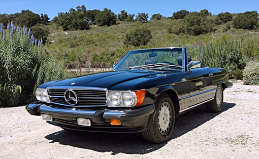 Car for Sale - 1986 Mercedes-Benz 560SL