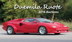 Duemila Ruote 2016 Auctions