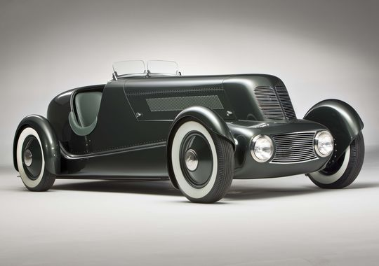 Edsel Ford Model 40 Special Speedster, 1934.