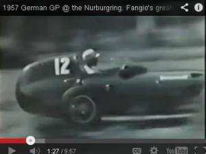 1957 German Grand Prix : Fangio's Finest Moment (Video)