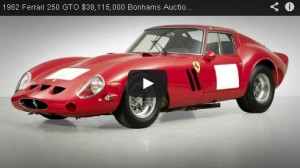 1962 Ferrari 250 GTO – Bonhams 2014 World Record Auction Sale (Video)
