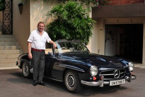Gunther Meyer's 1958 Mercedes-Benz 190SL Roadster has Stood the Test of Time
