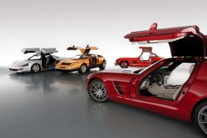 Fly High with 8 Iconic Mercedes-Benz Gullwings