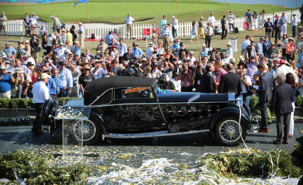 The 2015 Pebble Beach Best of Show, a 1924 Isotta Fraschini.