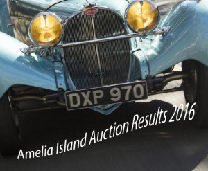 Amelia Island Auctions Results 2016