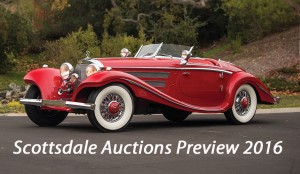 Scottsdale Auctions 2016 – Preview
