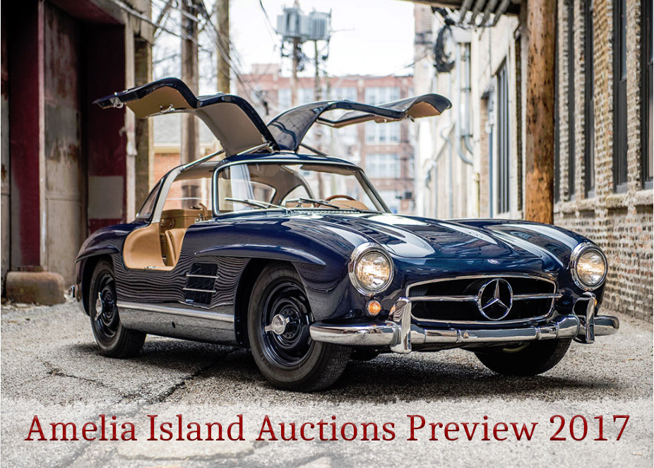 Amelia Island Auctions Preview