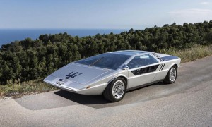 1972 Maserati Boomerang Coupe Lands Highest Auction Price at Bonhams Sale in Chantilly