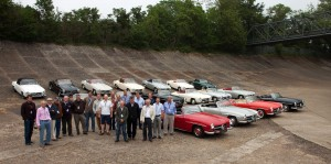 Iconic Mercedes-Benz 190SL's 60th Birthday Celebrated at Brooklands