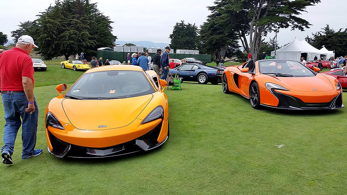 McLaren's on display