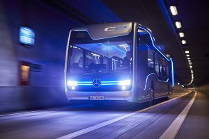 Mercedes Autonomous Bus Drives 12 Miles in Amsterdam