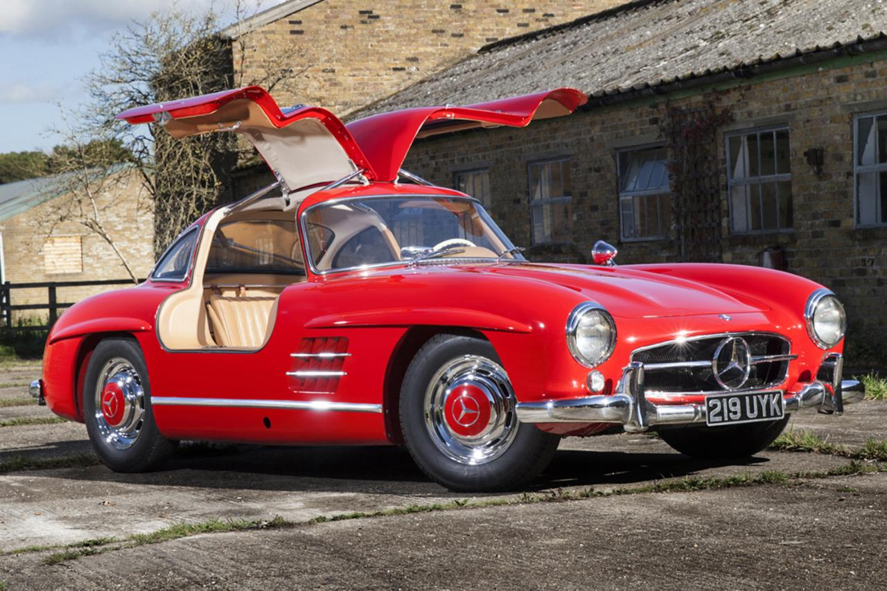 mercedes 300 sl gullwing that 39 s worth a million scott grundfor company classic collectible. Black Bedroom Furniture Sets. Home Design Ideas