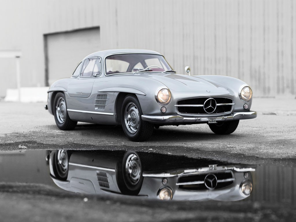 1955 mercedes benz 300 sl alloy gullwing