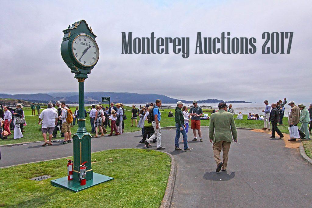 Monterey Auctions 2017
