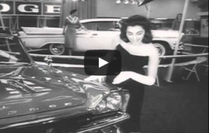 1957 New York Auto Show – The Return of the American Auto Show (Video)