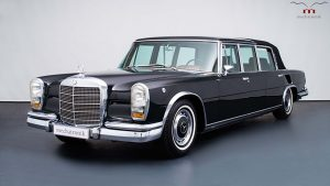 Mercedes-Benz 600 Pullman Landaulet Used By The Queen Up For Sale