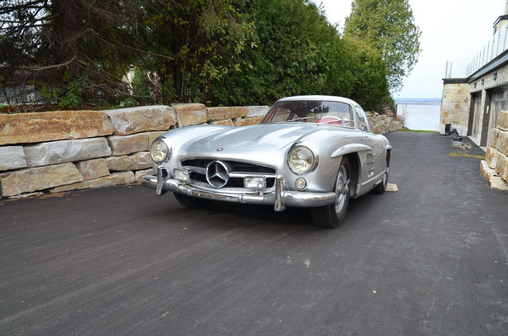 The 1956 Mercedes Benz 300SL Gullwing Has Timeless Elegance Alyn Edwards Driving
