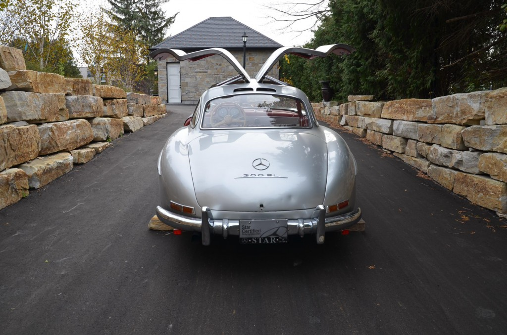 Rare classic Mercedes Gullwing miraculously found on eBay - Scott ...