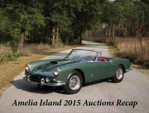 Amelia Island 2015 Auctions Recap
