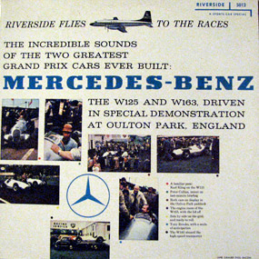 Riverside Records: The Sounds of the Mercedes-Benz W125 and W163 (Audio)