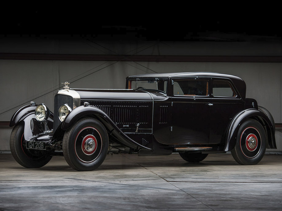 1930 Bentley 6½-Litre Speed Six Sportsman's Saloon by Corsica