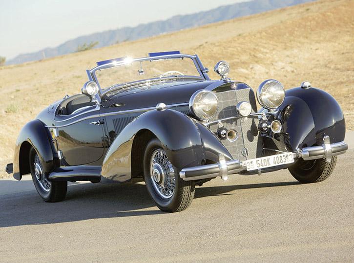 1939 Mercedes-Benz 540 K Special Roadster by Sindelfingen