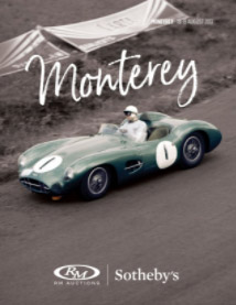 Monterey Auctions Catalogue 2017