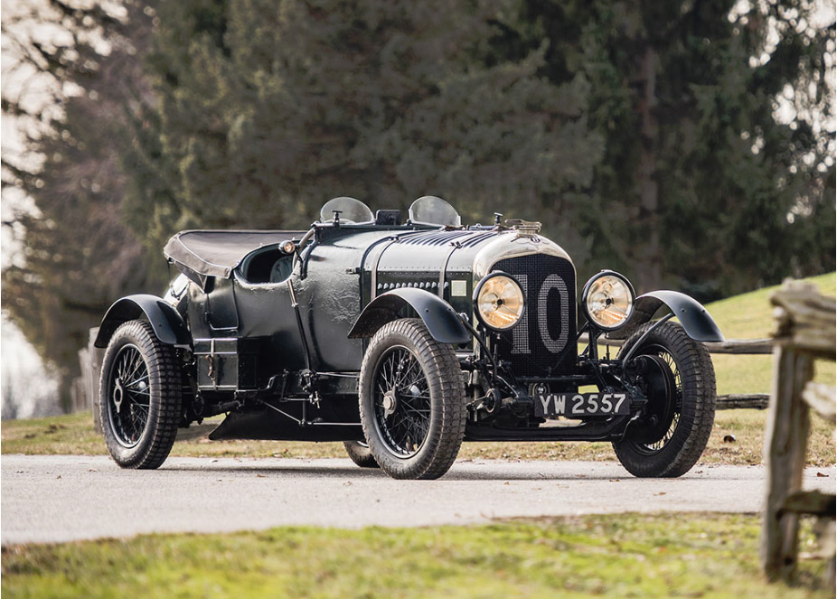 "1928 Bentley 4½-Litre Le Mans Sports ""The Bobtail"" by Vanden Plas"