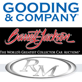 2012 Scottsdale Auctions : Result Links for Gooding, RM and Barrett-Jackson Auctions