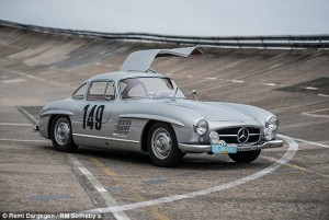 Rare Gullwing Raced by Stirling Moss Expected to Fetch $7 Million