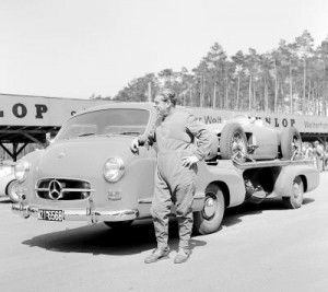 Rudolf Uhlenhaut, Director in Charge of the Mercedes–Benz Racing Program (Audio)