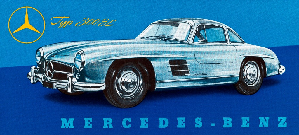 The Mercedes-Benz 300 SL Gullwing