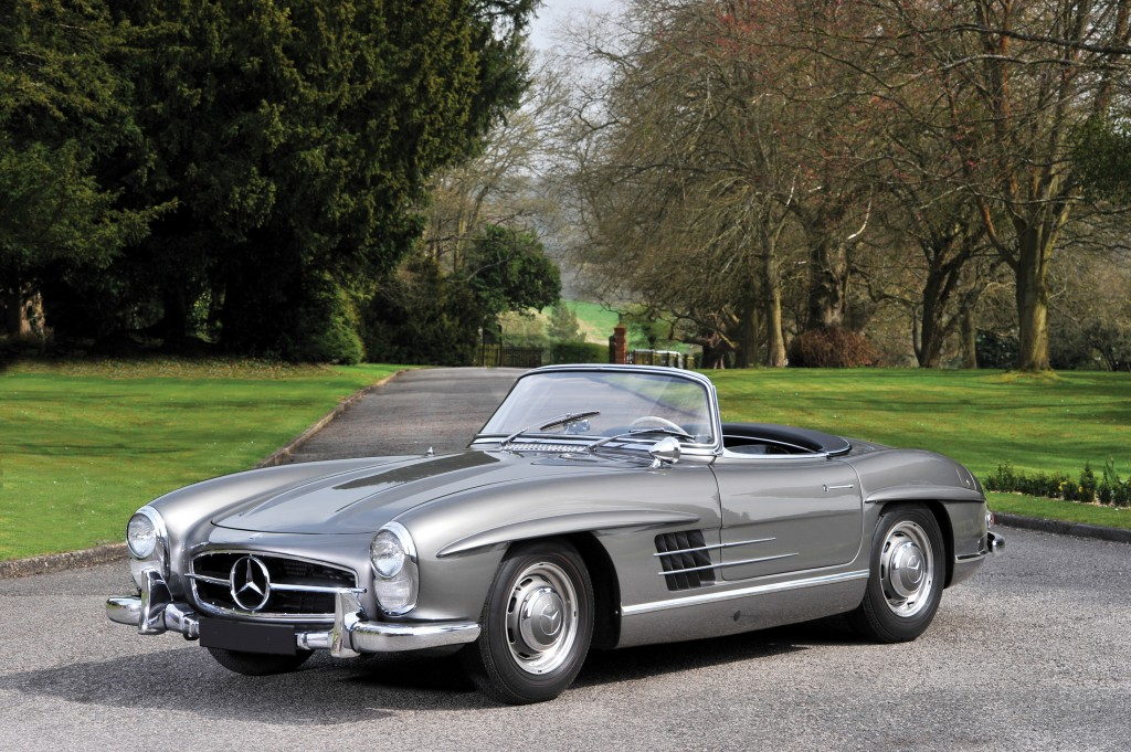 300 SL Gullwing, the Roadster