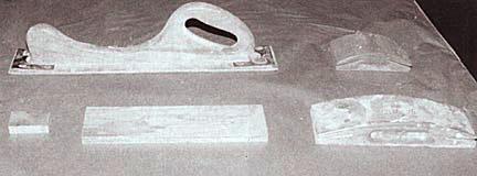 Various sanding blockers/tools