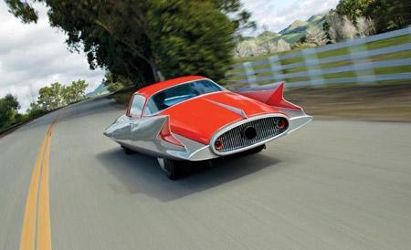 Ghia's 1955 dream car Gilda