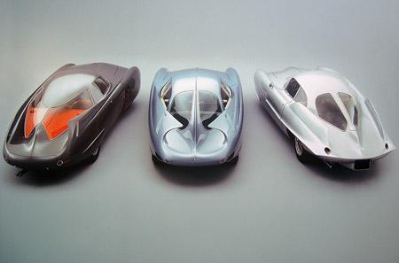 Alfa Romeo/ Bertone B.A.T. – Mobiles: B.A.T 5 (1953), B.A.T. 7 (1954), B.A.T. 9 (1955)