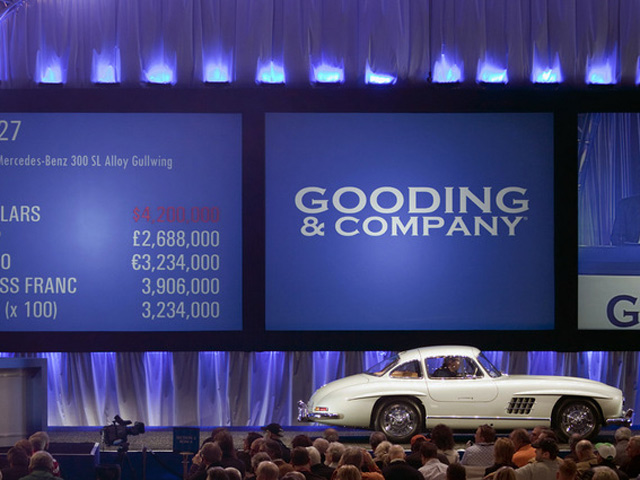 1955 Alloy 300SL Gullwing at Auction