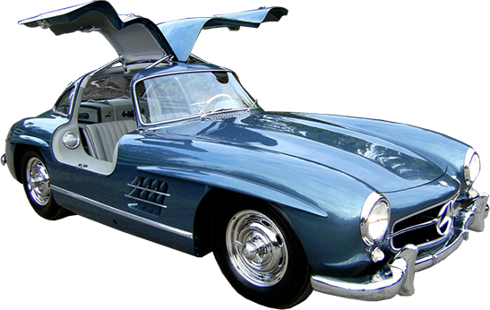 Mercedes-Benz 300SL Gullwing Restoration