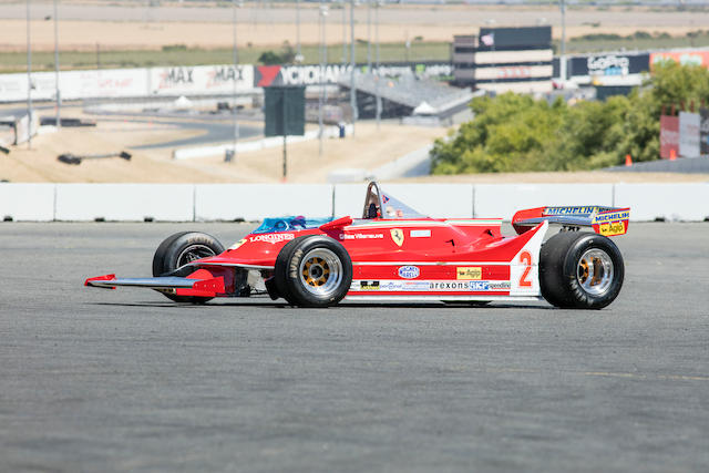 1980 FERRARI 312 T5 SINGLE SEATER FORMULA 1