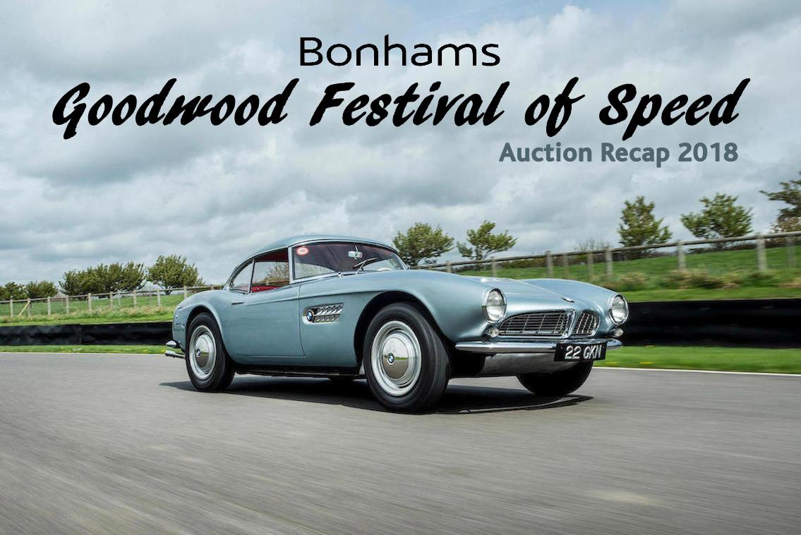 Bonhmas Goodwood Festival of Speed