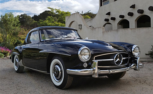 FOR SALE: 1957 Mercedes-Benz 190SL Roadster
