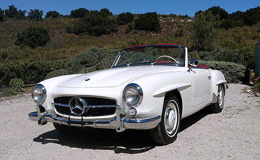 FOR SALE: 1961 Mercedes-Benz 190SL