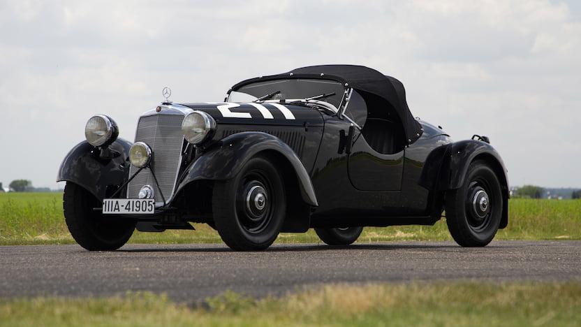 1938 MERCEDES-BENZ GELANDESPORT 170VS ALPINE RACER