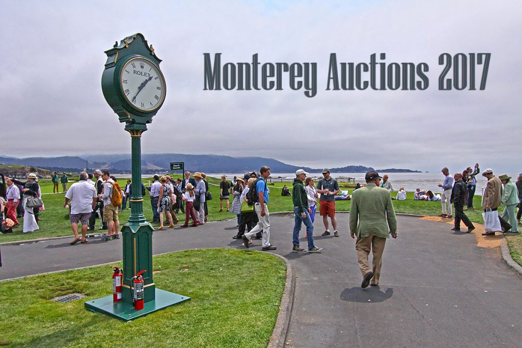 Monterey Auctions 2017