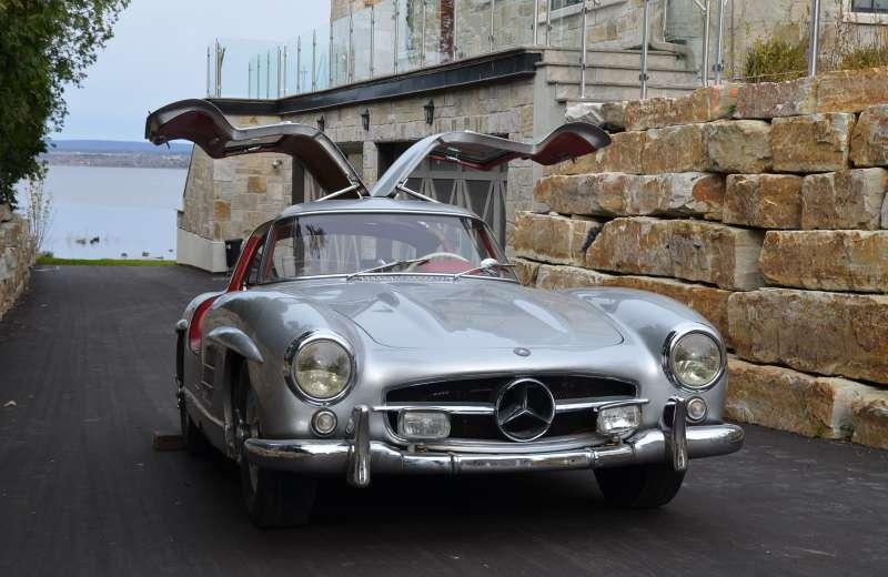 Rare Classic Mercedes Gullwing Miraculously Found On EBay Scott - Ebay classic cars