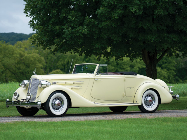 1936 Packard Twelve Coupe Roadster