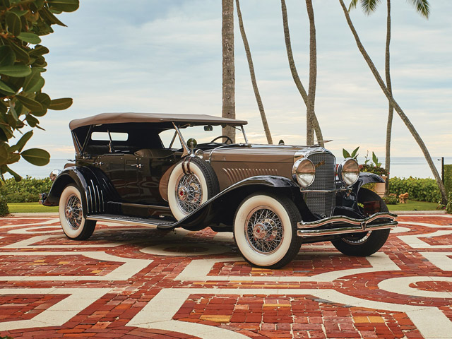 1930 Duesenberg Model J 'Sweep Panel' Dual-Cowl Phaeton by LeBaron