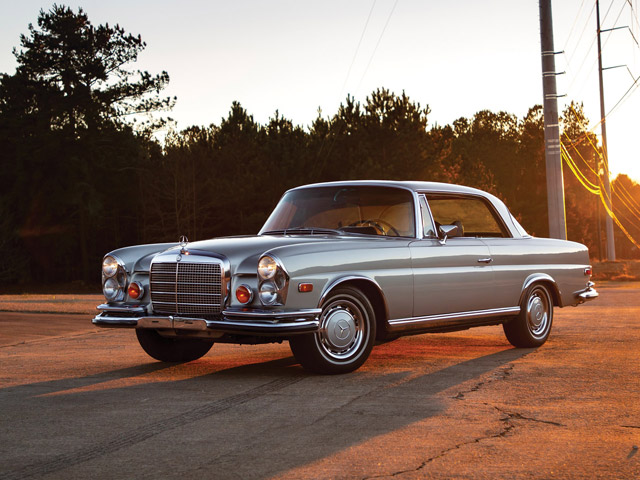 1971 Mercedes-Benz 280 SE 3.5 'Sunroof' Coupe