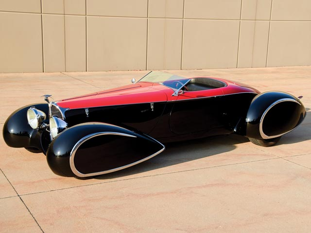 2003 Delahaye USA Bugnaughty Boattail Speedster