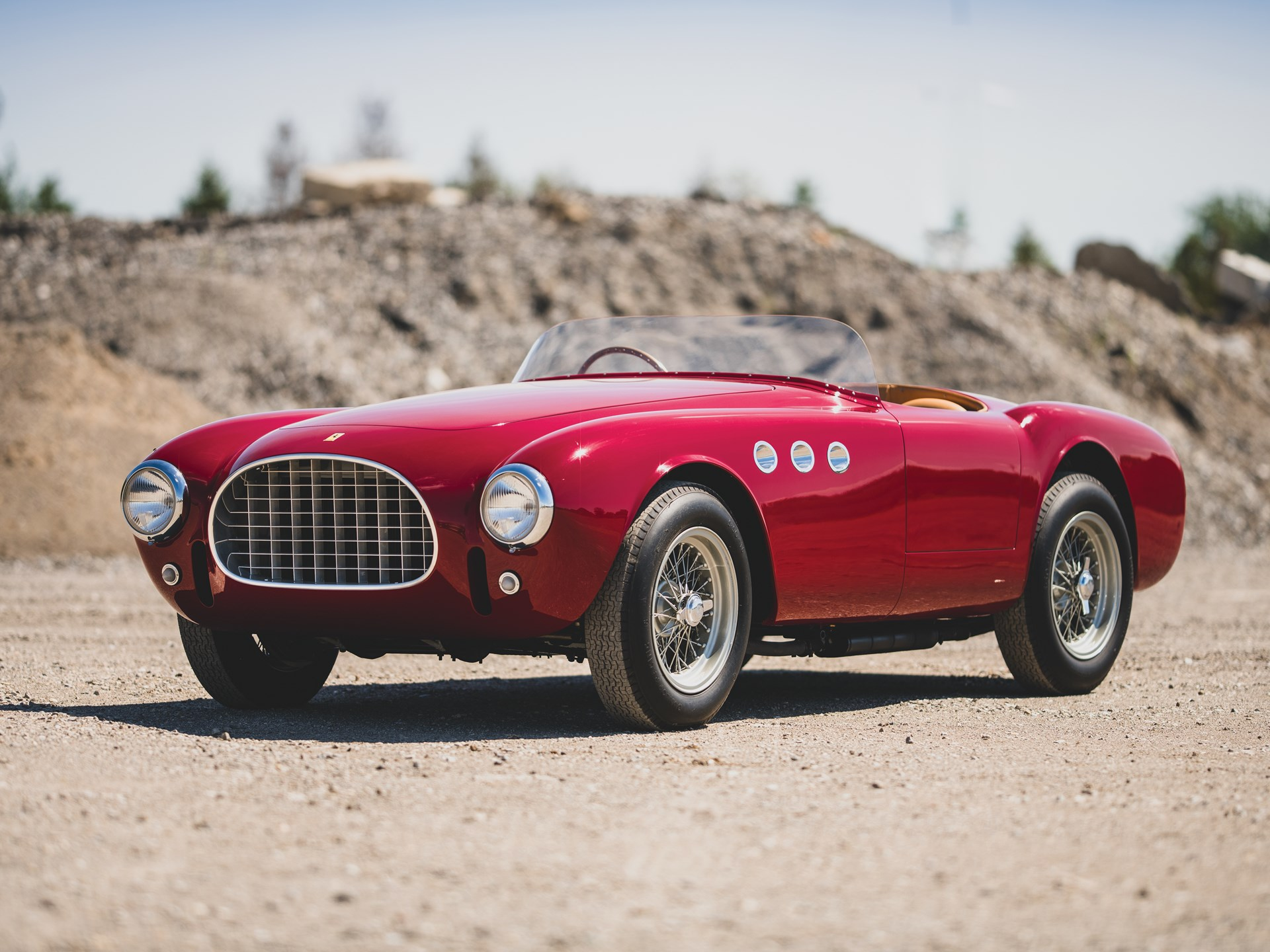 1952 Ferrari 225 Sport Spider by Vignale